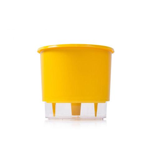 Vaso Auto irrigável - 3 Amarelo