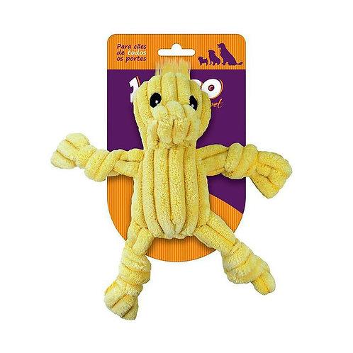 Brinquedo Jambo Mini Duck para Cães Amarelo