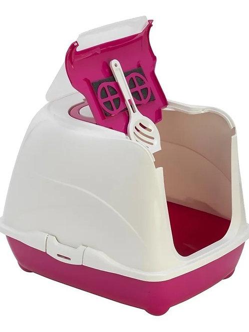 Banheiro Para Gatos Pink