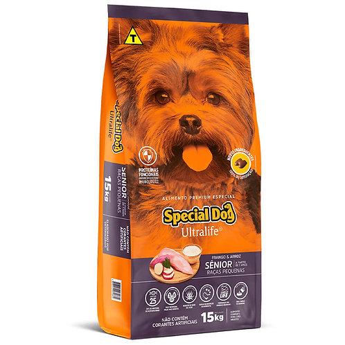 Ração Special Dog Ultralife Sênior para Cães de Raças Pequenas