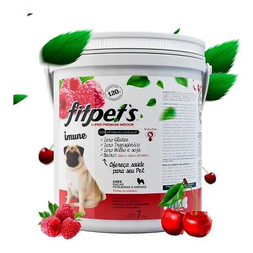 Ração Cães Raças Pequenas Zero Glúten 7kg Fitpets F/vermelha