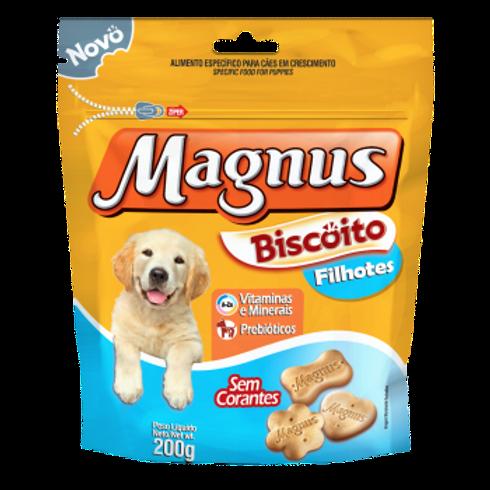 Magnus Biscoito Para Cães Filhotes 200g