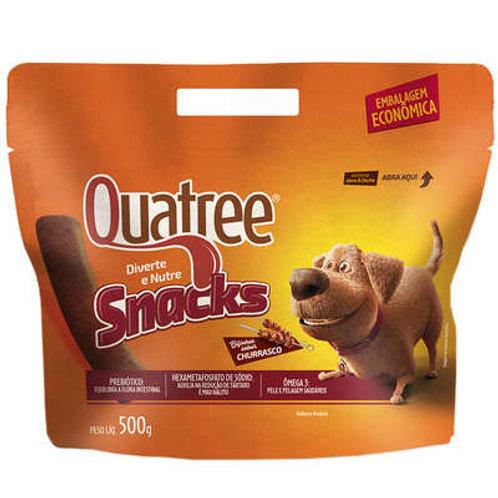 Petisco Quatree Snacks Bifinhos Churrasco para Cães
