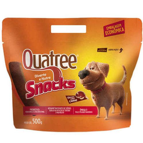 Petisco Quatree Snacks Bifinhos Carne para Cães