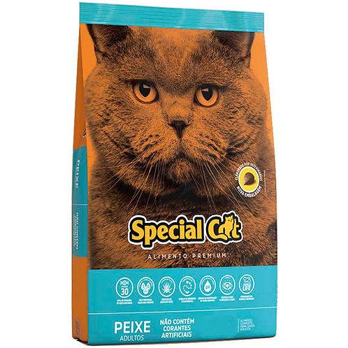 Ração Special Cat Premium Gatos Adultos Sabor Peixe 10,1Kg