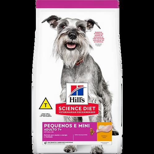 Hills Science Diet Raças Pequenas e Miniatura Para Cães Adultos De 7 A 10 Anos