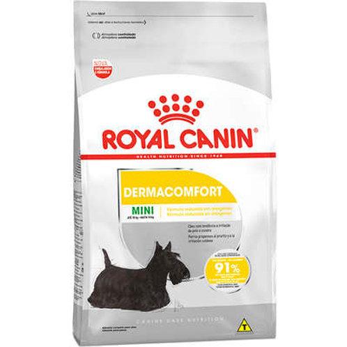 Ração Royal Canin Mini Dermacomfort para Cães Adultos ou Idosos de Raças Pequena