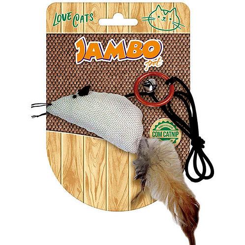 Brinquedo Jambo Rato Natural Catnip - jambo
