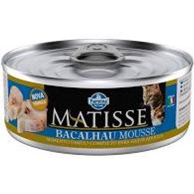 Lata Matisse Mousse Bacalhau para Gatos 85g