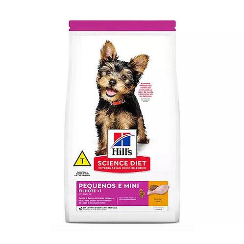 Ração Hills Science Diet para Cães Filhotes de Raças Pequenas e Miniaturas