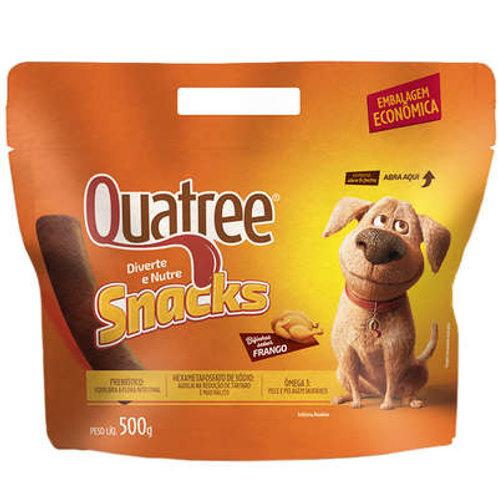 Petisco Quatree Snacks Bifinhos Frango para Cães