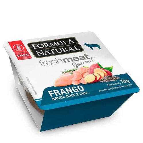 Ração Úmida Fórmula Natural Fresh Meat Gourmet para Cães Sabor Carne 70g