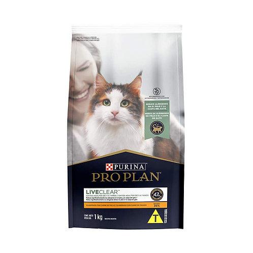 Ração ProPlan Live Clear para Gatos Adultos Sabor Frango