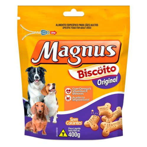 Biscoito Magnus Original para Cães Adultos - 400G