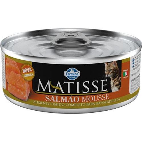 Lata Matisse Mousse Salmao para Gatos 85g