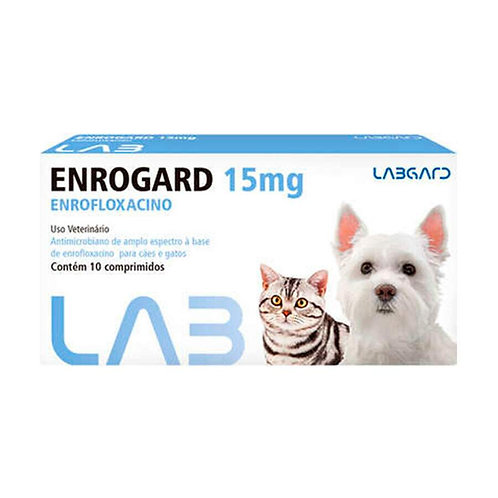 ENROGARD 15MG 10COMPRIMIDO