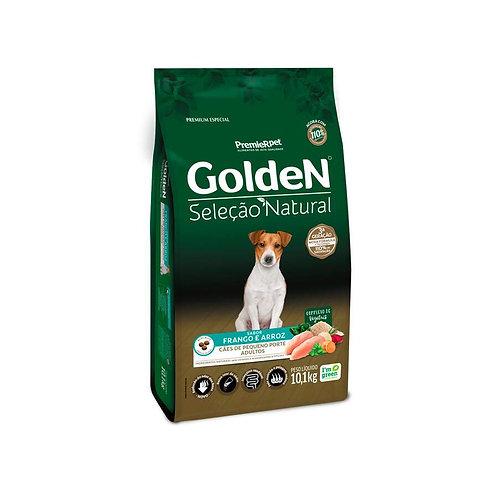 Ração Golden Seleção Natural para Cães Adultos de Raças Pequenas Mini Bits