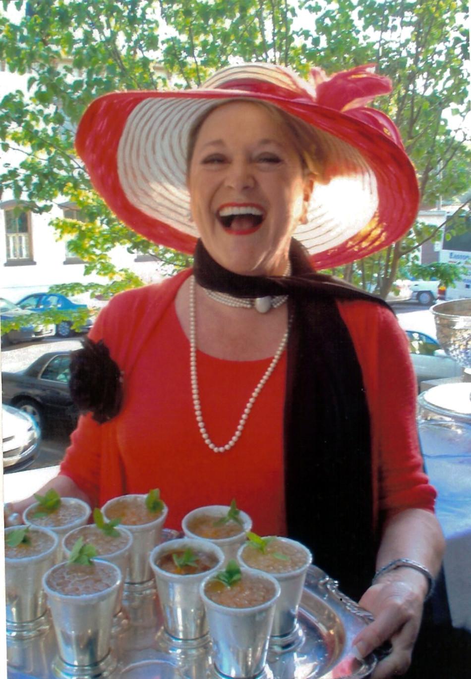 Linda Juleps and Hat.jpg