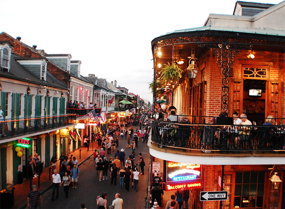 Now booking group trips to New Orleans!