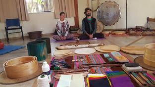 Confecção de tambores xamanicos