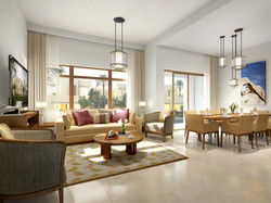 Reem Phase 2_townhome_C2_living