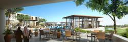 Doha Golf Clubhouse Pool Terrace