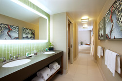 N - Bi-Level Suite Bathroom