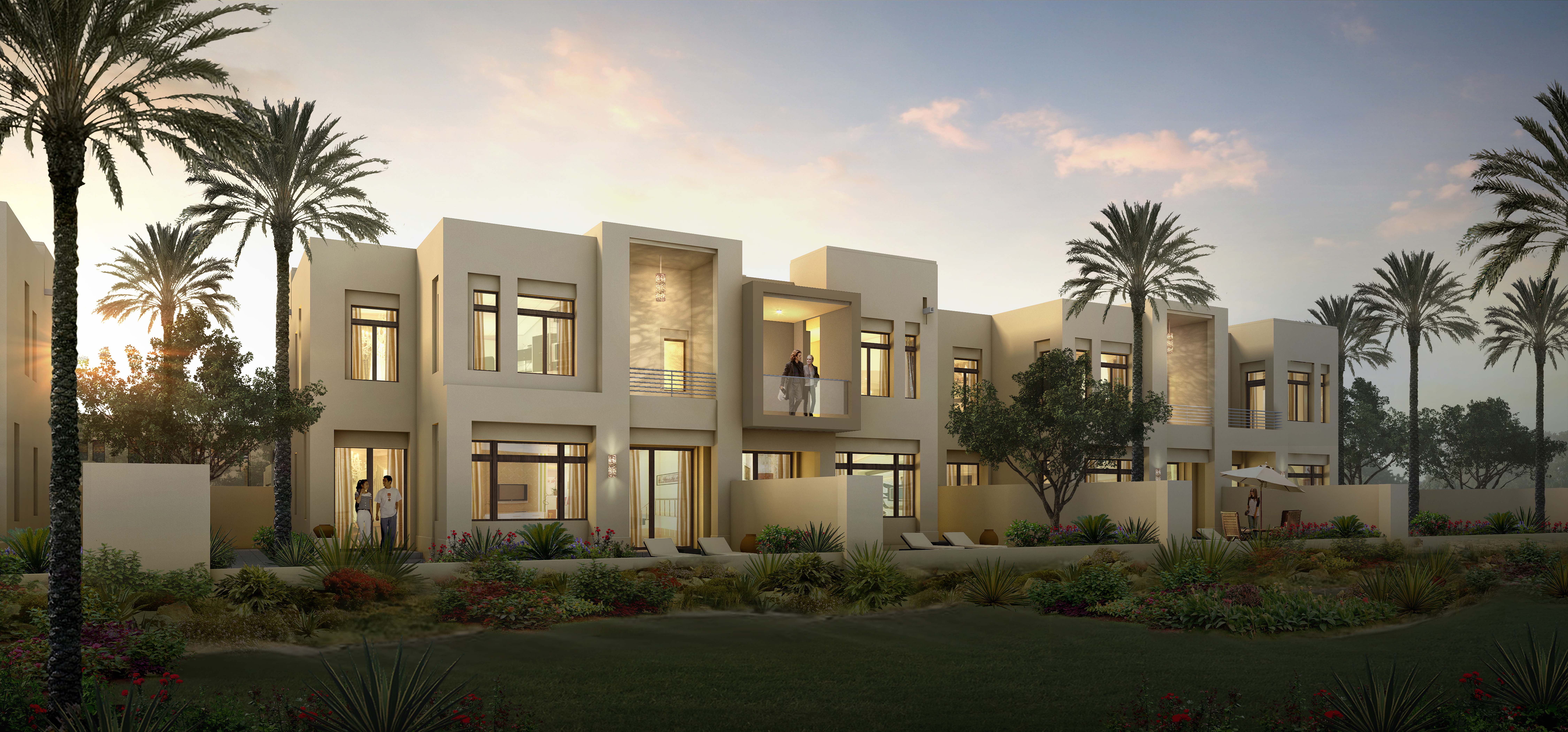 Reem Phase 2_Contemporary Rowhome rear