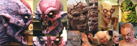 Various animatronics and SFX make up..jp