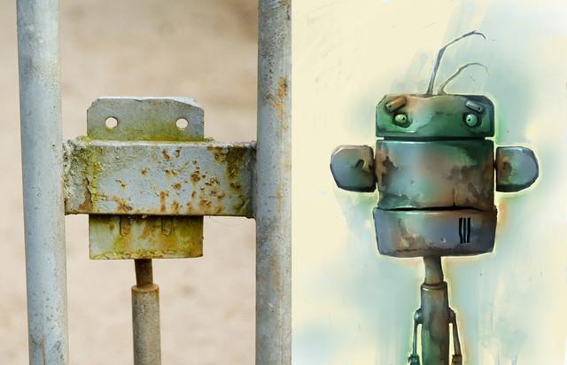 Concept art for Robot Buy from gate mech