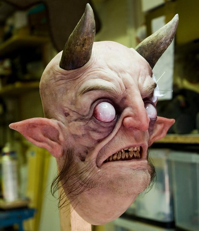 Devil head silicone sculpture..jpg
