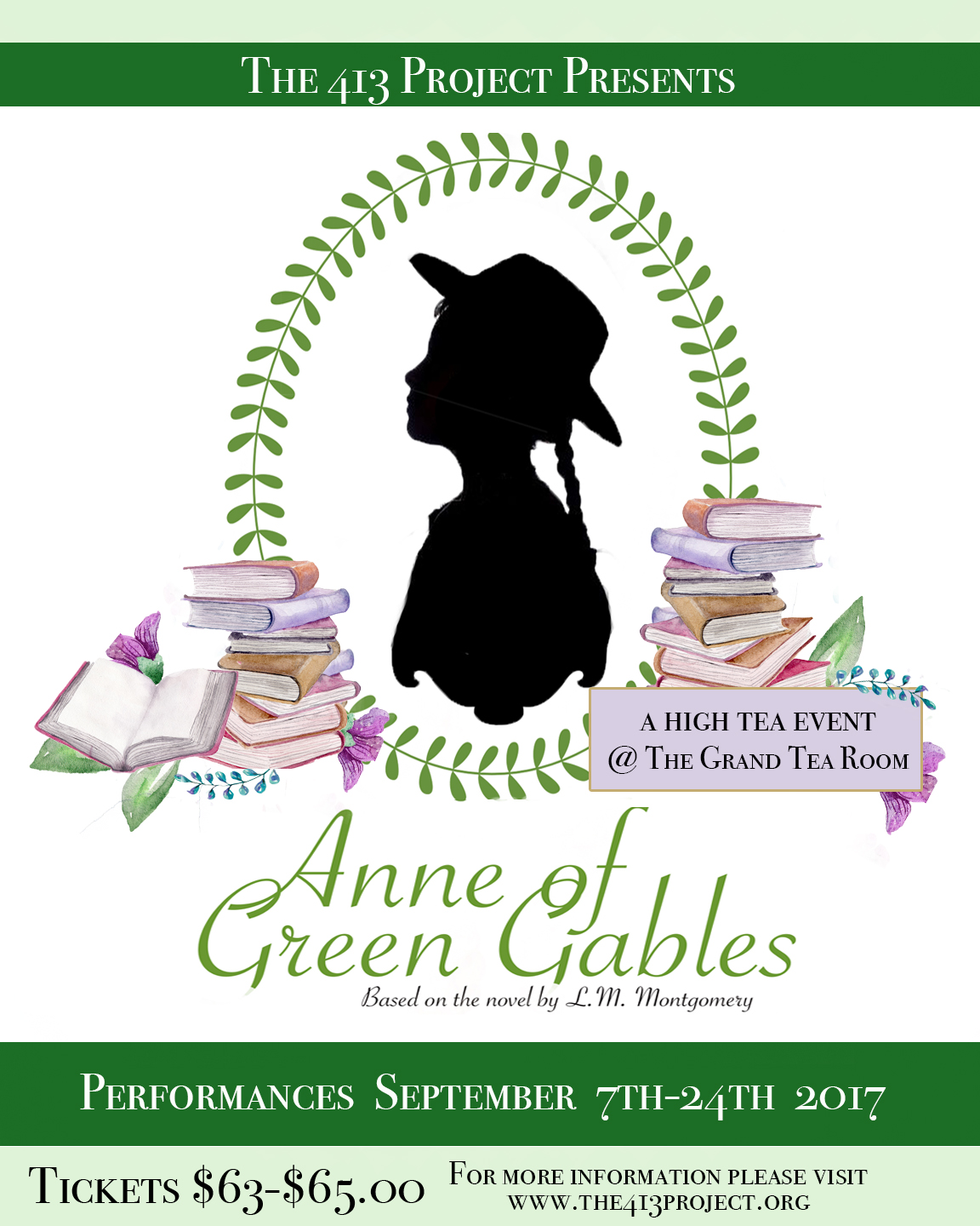 Thegrandtearoom event blog the 413 project brings anne of green gables to the grand tea room this fall monicamarmolfo Image collections