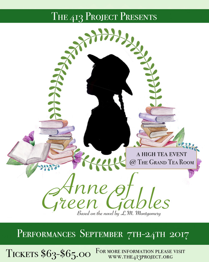 The 413 Project Brings Anne of Green Gables to The Grand Tea Room this Fall!