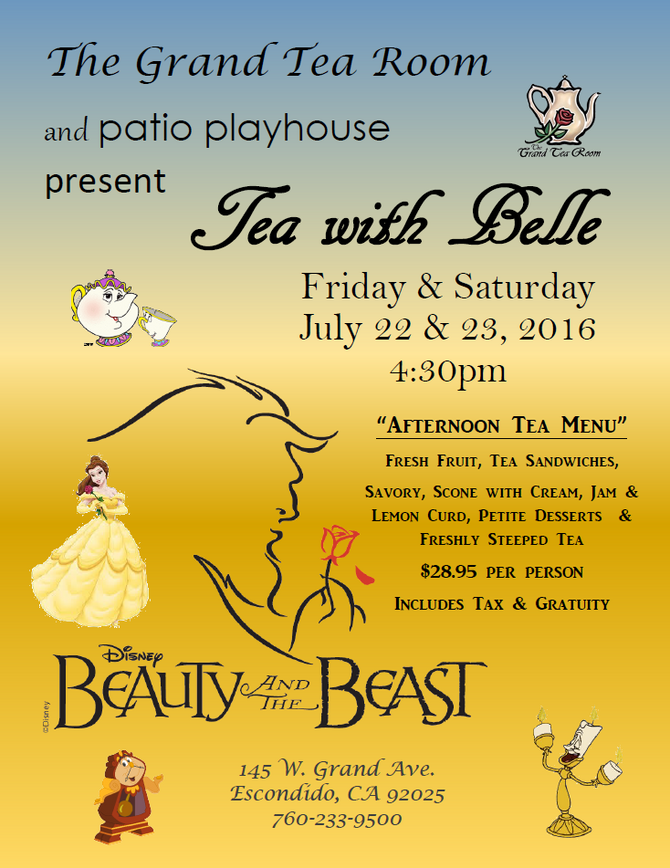 Tea with Belle & Friends