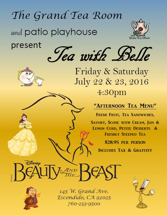 Tea with Belle & Friends