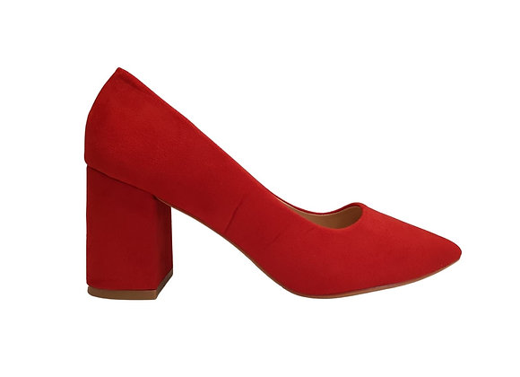 FOSTER (Red Suede)