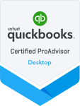 Quickbooks ProAdvisor DeskTop2018 Badge.