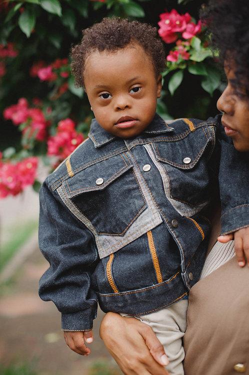 Jaqueta Jeans Vintage Kids