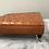 Thumbnail: Extra Large Deep Buttoned Leather Footstool - Upholstered Coffee Table