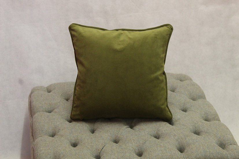 Moss Plush Velvet Scatter Cushion - Available to match your furniture