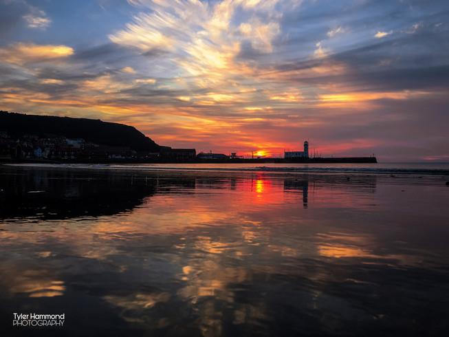 Scarborough Beach - Sea Front Sunrise