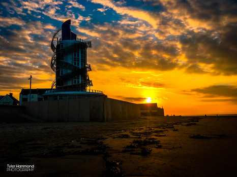 Redcar Seafront Sunset