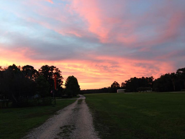 Flanders sunset