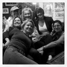 Sig, Sherrie, Cindy, me, Kat, Mikki