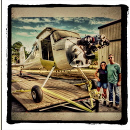 Pixie Knickers & Andy with Cessna