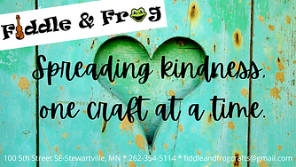 Spreading kindness, one craft at a time.