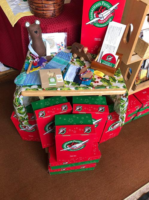 Operation Christmas Child SPONSOR A BOX