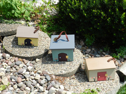 Carry-along Doll Houses