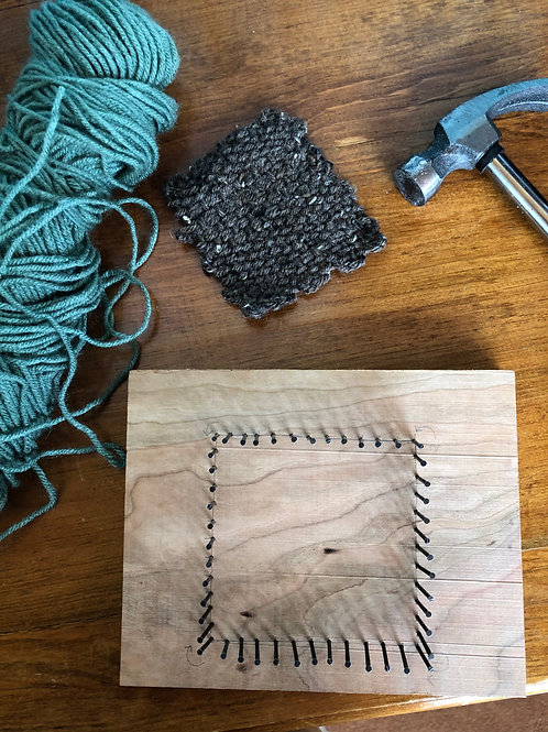Ship-to-you DIY Craft Kit:  Weaving Loom