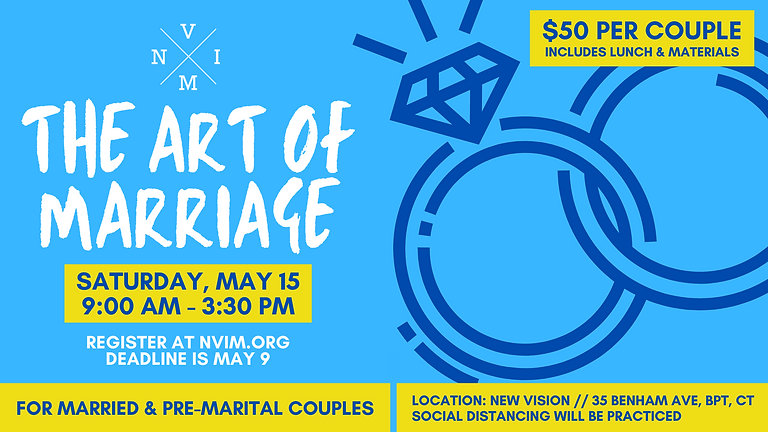 The Art of Marriage Event